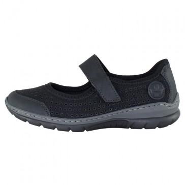 Pantofi dama negru Rieker relax confort L32B5-00-Black