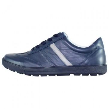 Pantofi piele naturala sport barbati bleumarin Bit Bontimes B5216-Jonnes-Albastru