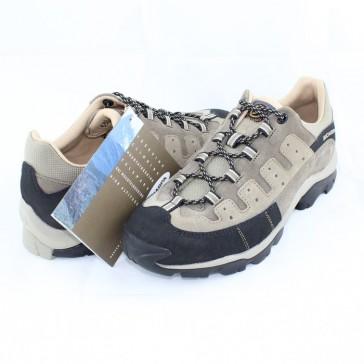 Pantofi piele intoarsa sport bej Scarpa 63041-Pepper