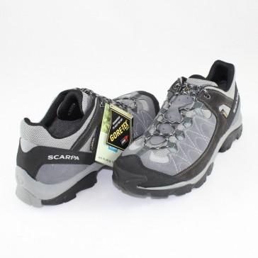 Pantofi piele intoarsa sport gri Scarpa 63039-G-Smoke