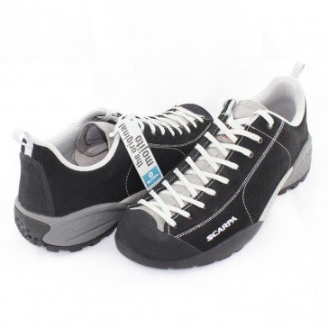 Pantofi piele intoarsa sport negru Scarpa Mojito-32605-350-Black