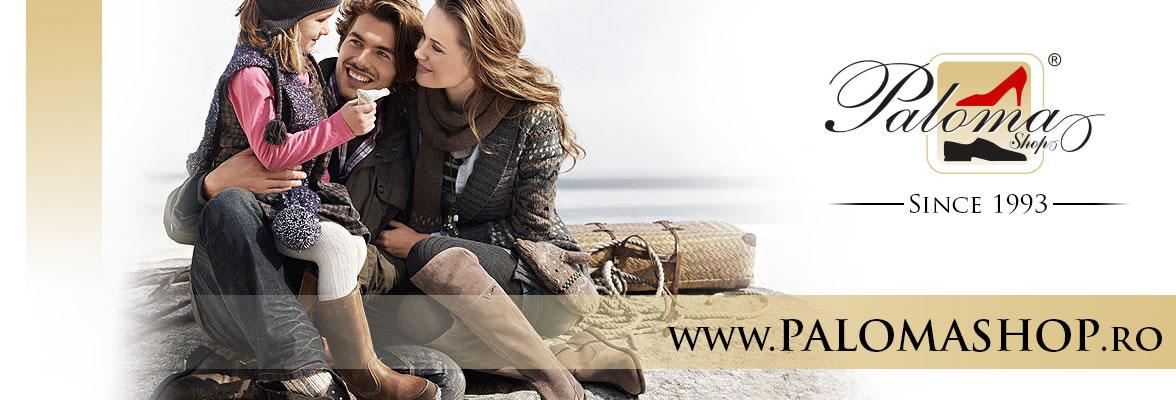 Magazin online de incaltaminte Palomashop.ro brand slider