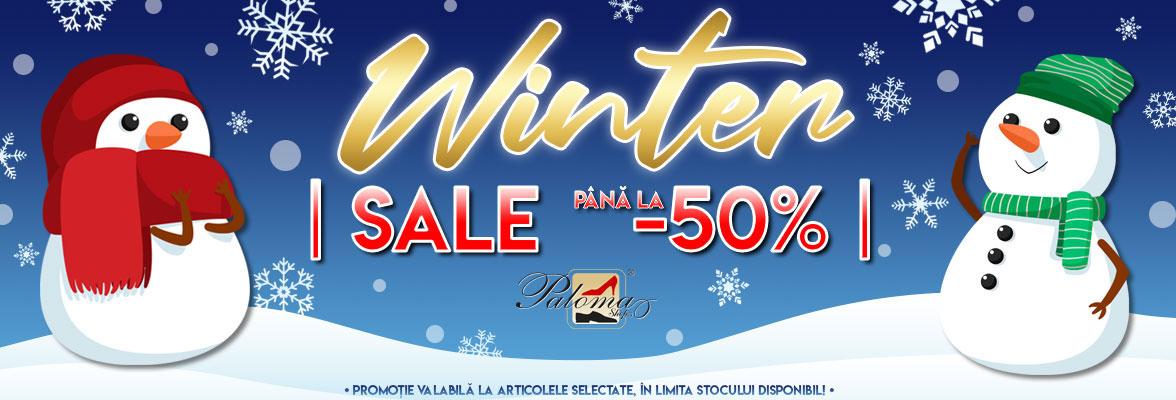 Winter Sale PalomaShop slider image